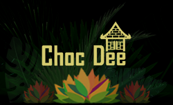 chocdee logo tropical Thai style